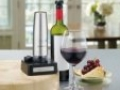 Even a gadgetphobe can operate this cordless wine preserving tool